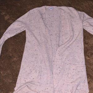 Speckled old navy cardigan